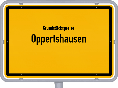 Grundstückspreise Oppertshausen 2019