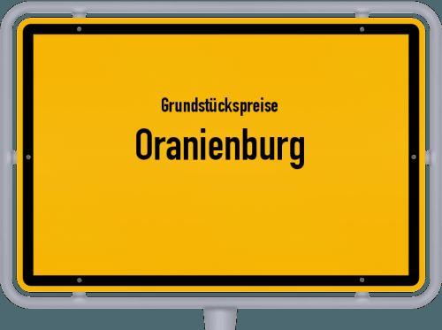 Grundstückspreise Oranienburg 2021