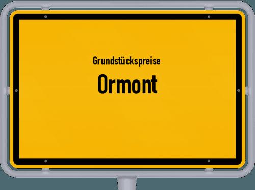 Grundstückspreise Ormont 2019