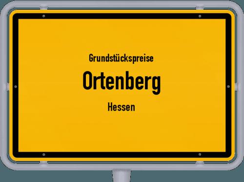 Grundstückspreise Ortenberg (Hessen) 2018