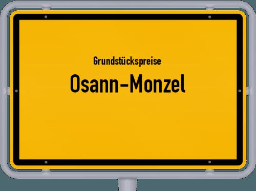 Grundstückspreise Osann-Monzel 2019