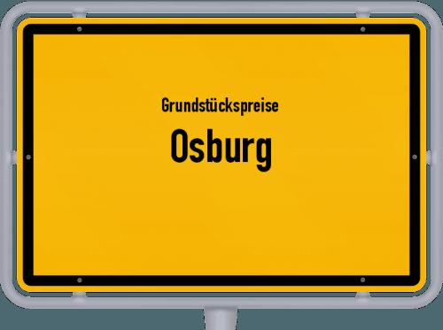 Grundstückspreise Osburg 2019