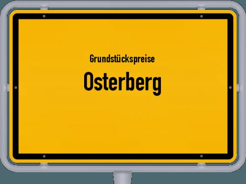 Grundstückspreise Osterberg 2019