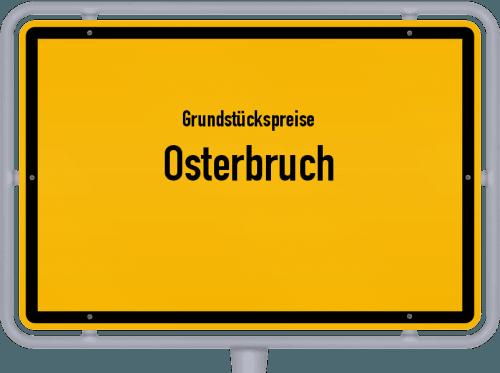 Grundstückspreise Osterbruch 2019