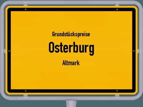 Grundstückspreise Osterburg (Altmark) 2018