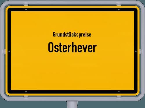 Grundstückspreise Osterhever 2021