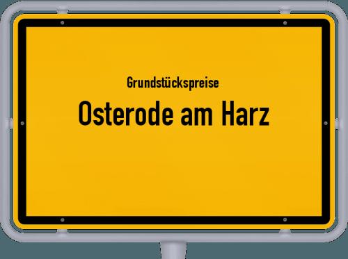 Grundstückspreise Osterode am Harz 2021