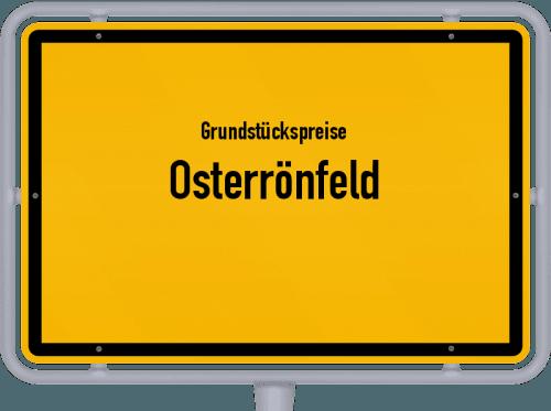 Grundstückspreise Osterrönfeld 2021