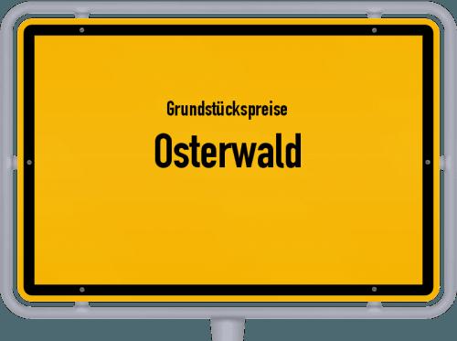 Grundstückspreise Osterwald 2021