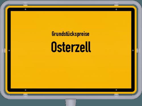 Grundstückspreise Osterzell 2021