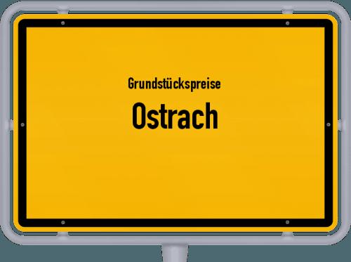 Grundstückspreise Ostrach 2018