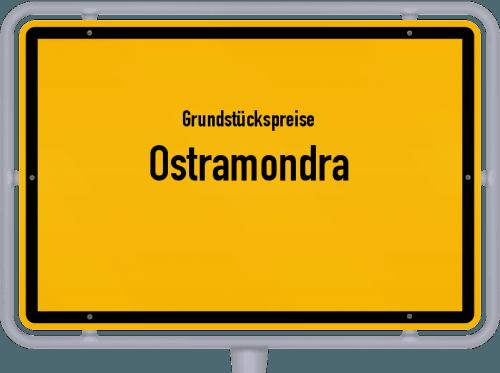 Grundstückspreise Ostramondra 2019