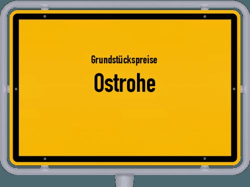 Grundstückspreise Ostrohe 2021
