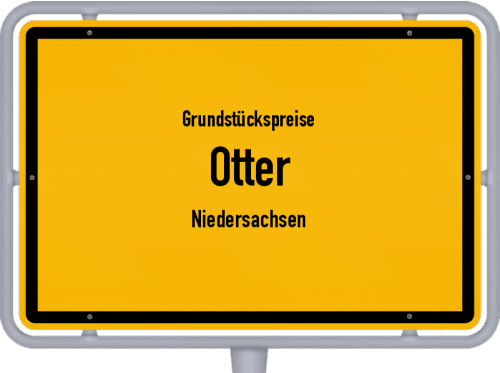 Grundstückspreise Otter (Niedersachsen) 2021