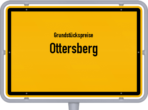 Grundstückspreise Ottersberg 2021