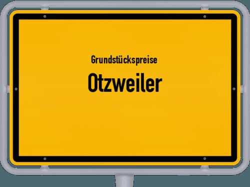 Grundstückspreise Otzweiler 2019