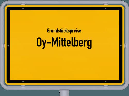 Grundstückspreise Oy-Mittelberg 2019