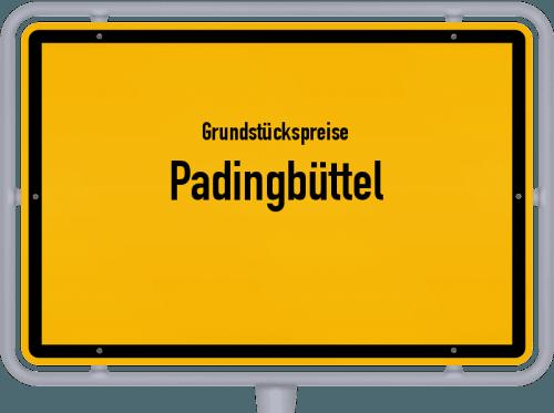 Grundstückspreise Padingbüttel 2019