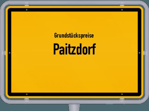 Grundstückspreise Paitzdorf 2019