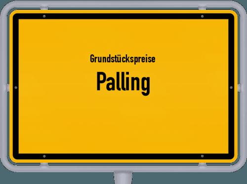 Grundstückspreise Palling 2019