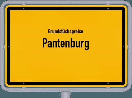 Grundstückspreise Pantenburg 2019
