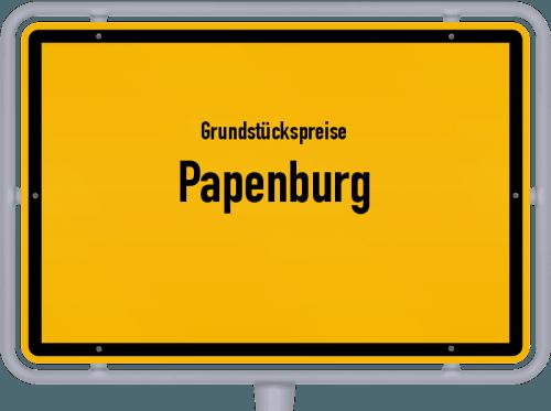 Grundstückspreise Papenburg 2019