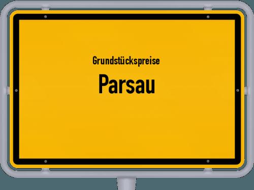 Grundstückspreise Parsau 2019