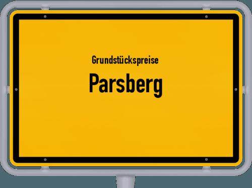 Grundstückspreise Parsberg 2021