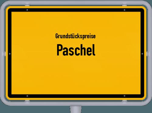 Grundstückspreise Paschel 2019