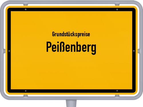 Grundstückspreise Peißenberg 2021