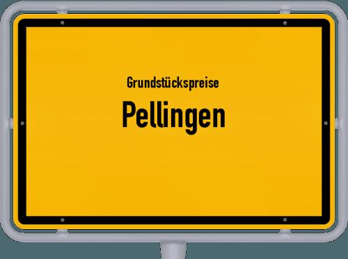 Grundstückspreise Pellingen 2019