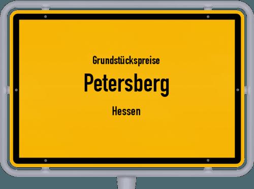 Grundstückspreise Petersberg (Hessen) 2018