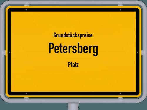 Grundstückspreise Petersberg (Pfalz) 2019