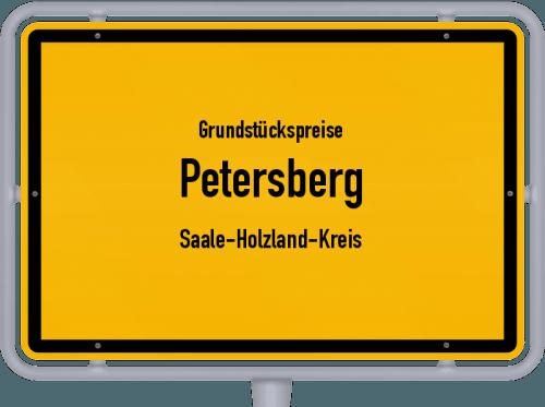 Grundstückspreise Petersberg (Saale-Holzland-Kreis) 2019
