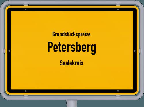 Grundstückspreise Petersberg (Saalekreis) 2021