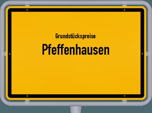 Grundstückspreise Pfeffenhausen 2019