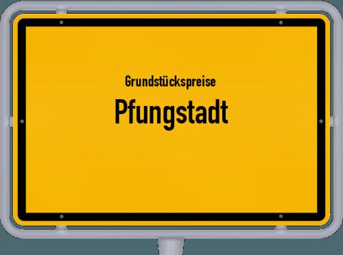 Grundstückspreise Pfungstadt 2020