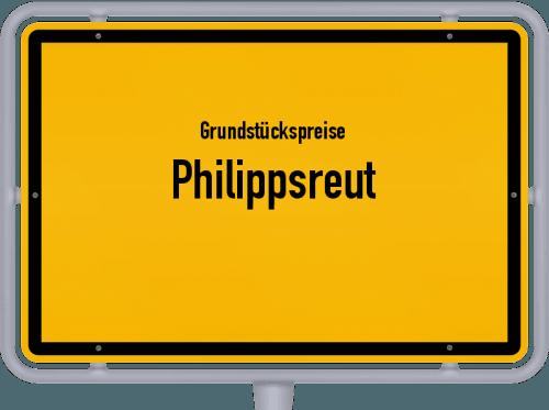 Grundstückspreise Philippsreut 2021