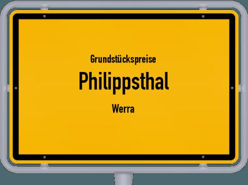 Grundstückspreise Philippsthal (Werra) 2019