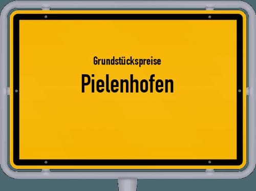 Grundstückspreise Pielenhofen 2021