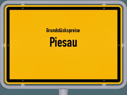 Grundstückspreise Piesau 2019