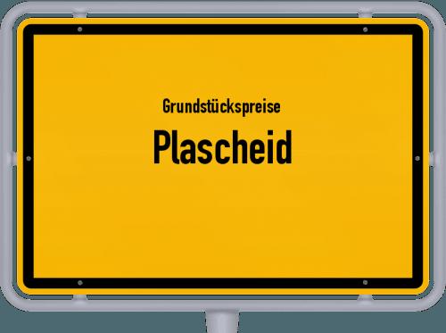 Grundstückspreise Plascheid 2019