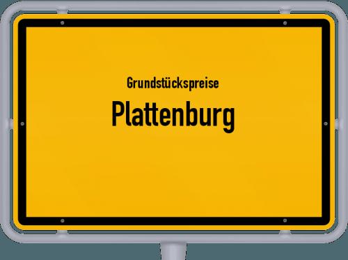 Grundstückspreise Plattenburg 2021