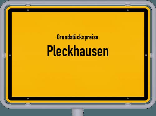 Grundstückspreise Pleckhausen 2019
