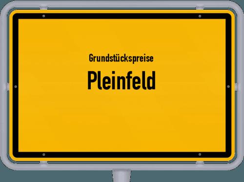 Grundstückspreise Pleinfeld 2021