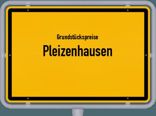 Grundstückspreise Pleizenhausen 2019