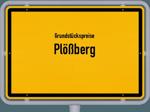 Grundstückspreise Plößberg 2019