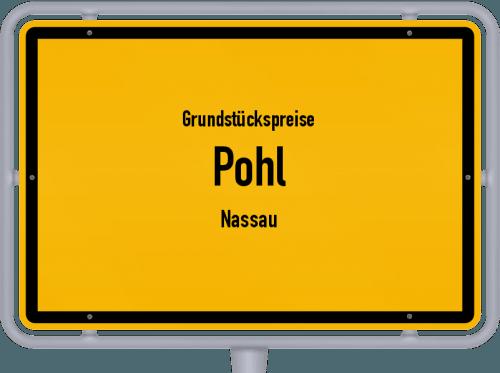 Grundstückspreise Pohl (Nassau) 2019