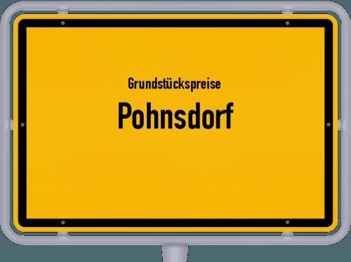 Grundstückspreise Pohnsdorf 2021