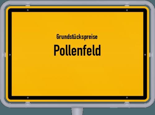 Grundstückspreise Pollenfeld 2019